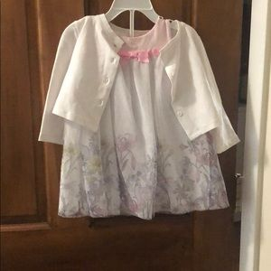 Other - 12m dress with sweater